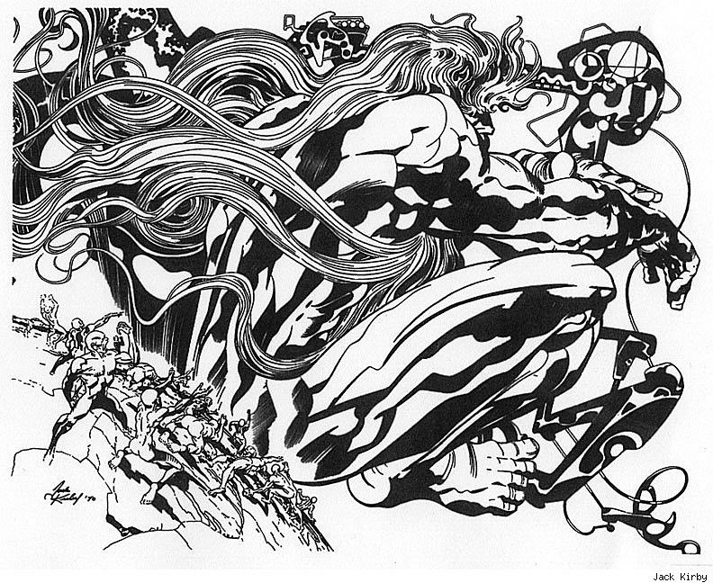 God by Jack Kirby